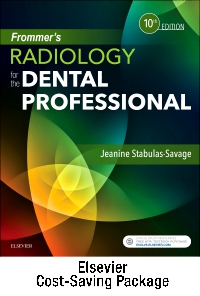 cover image - Frommer's Radiology for the Dental Professional - Text and Study Guide Package,10th Edition