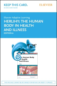 cover image - Elsevier Adaptive Learning for The Human Body in Health and Illness (Access Card),6th Edition