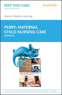 cover image - Elsevier Adaptive Learning for Maternal Child Nursing Care (Access Card),6th Edition