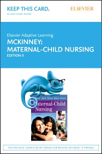 cover image - Elsevier Adaptive Learning for Maternal-Child Nursing (Access Card),5th Edition