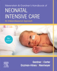 cover image - Merenstein & Gardner's Handbook of Neonatal Intensive Care - Elsevier eBook on VitalSource,9th Edition