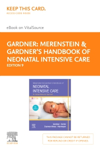 cover image - Merenstein & Gardner's Handbook of Neonatal Intensive Care -  Elsevier eBook on VitalSource (Retail Access Card),9th Edition