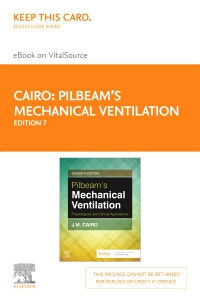 cover image - Pilbeam's Mechanical Ventilation Elsevier eBook on VitalSource (Retail Access Card),7th Edition