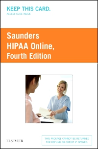 cover image - HIPAA Online (Access Card),4th Edition
