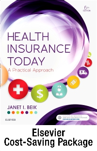 cover image - Health Insurance Today - Text and Workbook Package,6th Edition