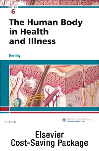 cover image - The Human Body in Health & Illness - Text and Study Guide package,6th Edition