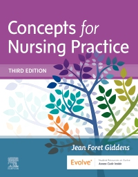 cover image - Concepts for Nursing Practice (with Access on VitalSource),3rd Edition