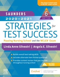 cover image - Evolve Resources for Saunders 2020-2021 Strategies for Test Success,6th Edition