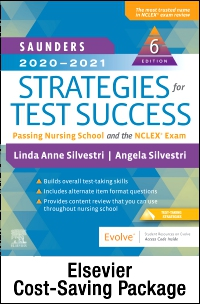 cover image - Saunders 2020-2021 Strategies for Test Success - Elsevier eBook on VitalSource + Evolve Access (Retail Access Cards),6th Edition