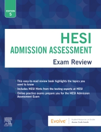 cover image - Evolve Resources for Admissions Assessment Exam Review,5th Edition