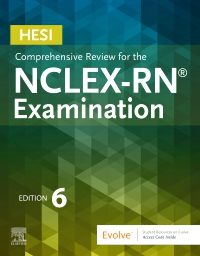 cover image - Evolve Resources for HESI Comprehensive Review for the NCLEX-RN Examination,6th Edition