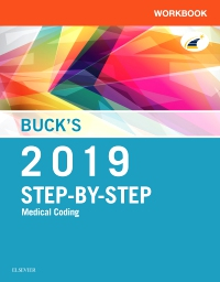 cover image - Buck's Workbook for Step-by-Step Medical Coding, 2019 Edition Elsevier eBook on VitalSource