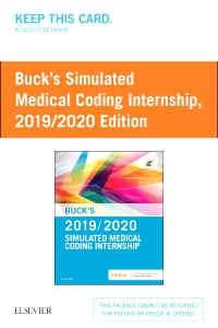 cover image - Buck's Simulated Medical Coding Internship 2019/2020 Edition (Retail Access Card)