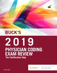 cover image - Buck's Physician Coding Exam Review 2019 Elsevier eBook on VitalSource