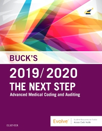 cover image - Buck's The Next Step: Advanced Medical Coding and Auditing, 2019/2020 Edition