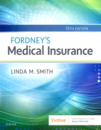 cover image - Fordney's Medical Insurance - Elsevier eBook on VitalSource,15th Edition