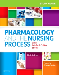 cover image - Study Guide for Pharmacology and the Nursing Process,9th Edition