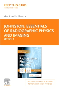 cover image - Essentials of Radiographic Physics and Imaging Elsevier eBook on VitalSource (Retail Access Card),3rd Edition