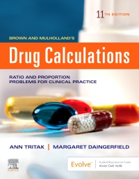 cover image - Drug Calculations Elsevier eBook on VitalSource,11th Edition