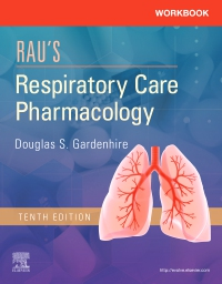 cover image - Workbook for Rau's Respiratory Care Pharmacology Elsevier eBook on VitalSource,10th Edition