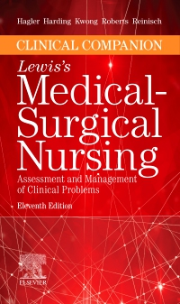 cover image - Clinical Companion to Lewis's Medical-Surgical Nursing Elsevier eBook on VitalSource,11th Edition