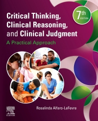 cover image - Critical Thinking, Clinical Reasoning and Clinical Judgment Elsevier eBook on VitalSource,7th Edition