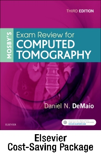 cover image - Mosby's Exam Review for Computed Tomography - Evolve and VitalSource Retail Access Cards,3rd Edition