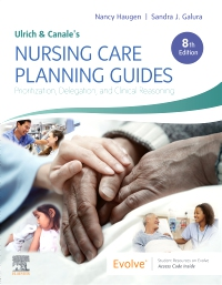 cover image - Ulrich & Canale's Nursing Care Planning Guides,8th Edition