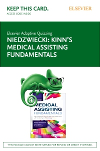 cover image - Elsevier Adaptive Quizzing for Kinn's Medical Assisting Fundamentals (Access Card)