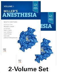 cover image - Miller's Anesthesia, 2-Volume Set,9th Edition