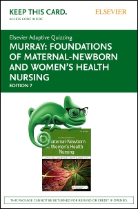 cover image - Elsevier Adaptive Quizzing for Foundations of Maternal-Newborn and Women's Health Nursing (Access card),7th Edition
