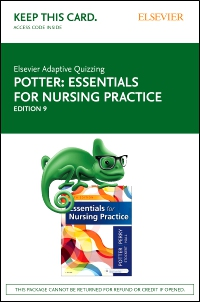 cover image - Elsevier Adaptive Quizzing for Essentials for Nursing Practice (Access Card),9th Edition