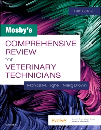 cover image - Mosby's Comprehensive Review for Veterinary Technicians,5th Edition