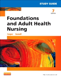 cover image - Study Guide for Foundations and Adult Health Nursing - Elsevier eBook on VitalSource,7th Edition