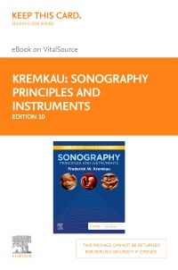 cover image - Sonography Principles and Instruments Elsevier eBook on VitalSource (Retail Access Card),10th Edition