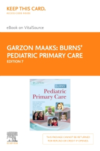 cover image - Burns' Pediatric Primary Care Elsevier eBook on VitalSource (Retail Access Card),7th Edition