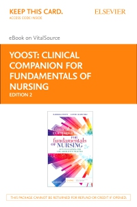 cover image - Clinical Companion for Fundamentals of Nursing Elsevier eBook on VitalSource (Retail Access Card),2nd Edition