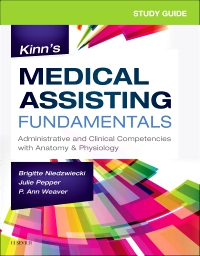 cover image - Study Guide for Kinn's Medical Assisting Fundamentals