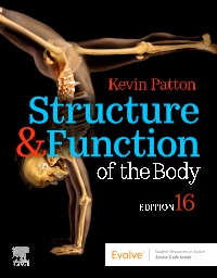 cover image - Structure & Function of the Body - Softcover,16th Edition