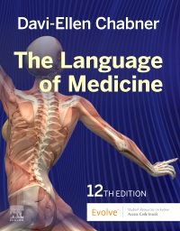 cover image - The Language of Medicine Elsevier eBook on VitalSource,12th Edition