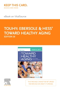 cover image - Ebersole & Hess' Toward Healthy Aging Elsevier eBook on VitalSource (Retail Access Card),10th Edition
