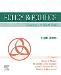 cover image - Policy and Politics in Nursing and Health Care Elsevier eBook on VitalSource,8th Edition