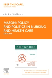 cover image - Policy and Politics in Nursing and Health Care Elsevier eBook on VitalSource (Retail Access Card),8th Edition