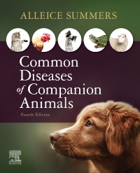 cover image - Common Diseases of Companion Animals Elsevier eBook on VitalSource,4th Edition