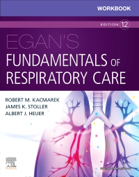 cover image - Workbook for Egan's Fundamentals of Respiratory Care Elsevier eBook on VitalSource,12th Edition