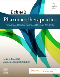 cover image - Lehne's Pharmacotherapeutics for Advanced Practice Nurses and Physician Assistants 2e - Elsevier eBook on VitalSource,2nd Edition