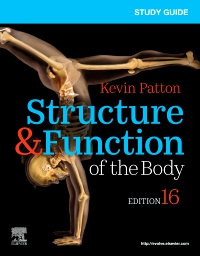 cover image - Study Guide for Structure & Function of the Body,16th Edition