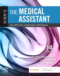 cover image - Evolve Resources for Kinn's The Medical Assistant,14th Edition