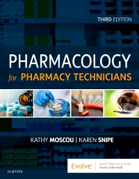 cover image - Evolve Resources for Pharmacology for Pharmacy Technicians,3rd Edition