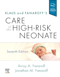 cover image - Klaus and Fanaroff's Care of the High-Risk Neonate Elsevier eBook on VitalSource,7th Edition